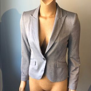 Zara Heather Grey Blazer